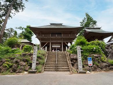 髙蔵寺の外観