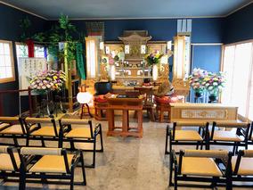髙蔵寺の本堂